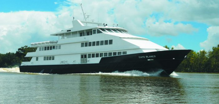 New 600-passenger ferry recently left Louisiana for Puerto Rico.