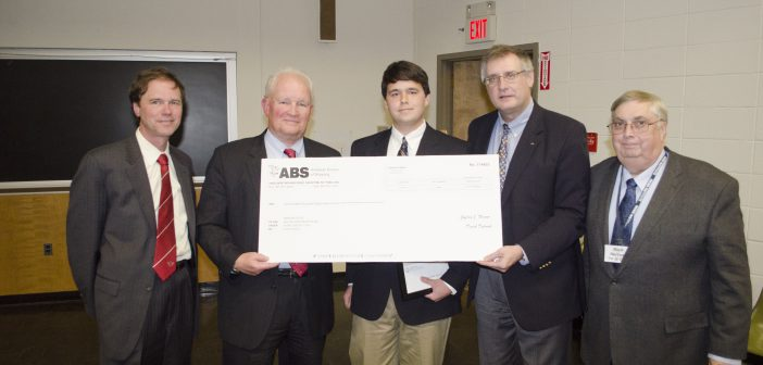 05.23.12_ABS presents scholarships to Webb Institute