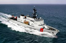 Eastern was awarded the contract to build the offshore patrol cutter by the Coast Guard on Sept. 15, 2016. Rendering courtesy of Eastern Shipbuilding Group.
