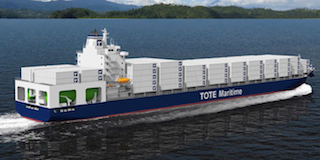 Marlin LNG-powered containership render