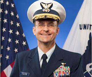 Coast Guard Vice Commandant Charles Michael. Photo: USCG