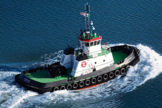A HandySize-class tug. Photo: Great Lakes Shipyard