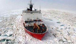 The medium icebreaker Healy. Photo: USCG