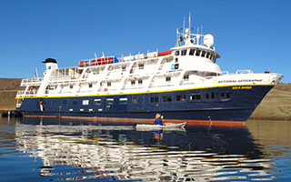 Lindblad Expeditions' Nichols-built National Geographic Sea Bird. Lindblad Expeditions photo.