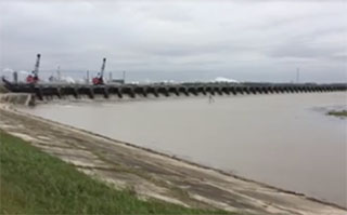 The Bonnet Carru00e9 Spillway. USACE image.