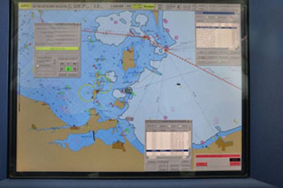 Screengrab from an electronic chart used aboard Coast Guard Cutter Mackinaw in 2009. USCG photo.