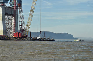 The site of the Specialist sinking. Photo: Kevin P. Coughlin/Office of Governor Andrew M. Cuomo.