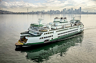 Washington State Ferries' Olympic-class Samish. WSF photo.