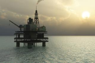 Gulf of Mexico rig. BOEM photo.