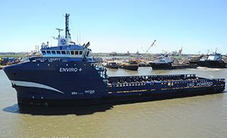 The Harvey Liberty. Shell Offshore photo.