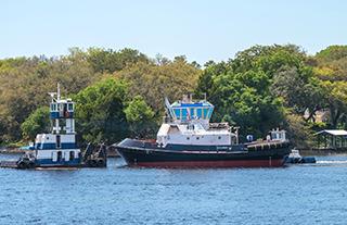 The Oceanus. Eastern Shipbuilding photo.