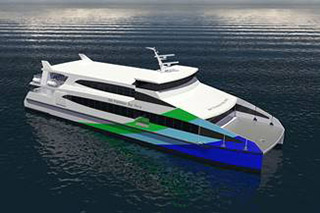 A rendering of the new WETA ferries. Image courtesy PPG.