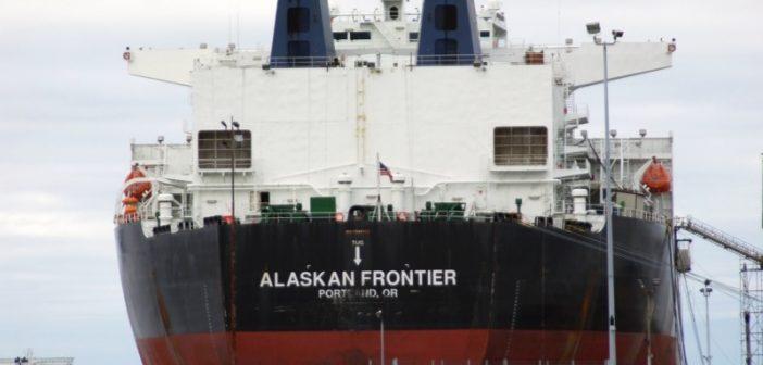 The VLCC oil tanker Alaskan Frontier. Creative Commons/Joseph Novak