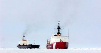 USCG icebreakers Polar Sea and Polar Star. USCG photo.