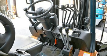 Forklift cab. Creative Commons photo by Tennen Gas.
