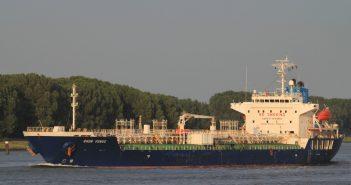 The tanker Chem Venus. Photo courtesy Shipspotting.com / credit Aleksi Lindström.
