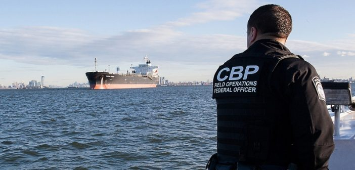 A Customs and Border Patrol port security patrol. Department of Homeland Security photo