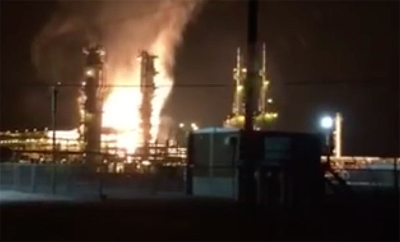 explosion at enterprise plant curbs gulf of mexico oil gas production workboat explosion at enterprise plant curbs