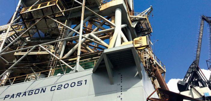 Paragon Offshore rig. Paragon photo.