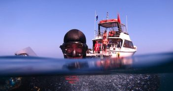 A promotional image for the Sundiver Express dive boat. Sundiver International photo.