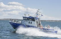 The Penta 81 test boat has twin D8 IPS 800 engines. Photo: Marie Ullnert/Bilduppdraget for Volvo Penta