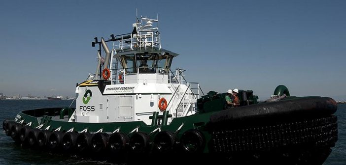 The hybrid power tugboat Carolyn Dorothy. Foss Maritime photo