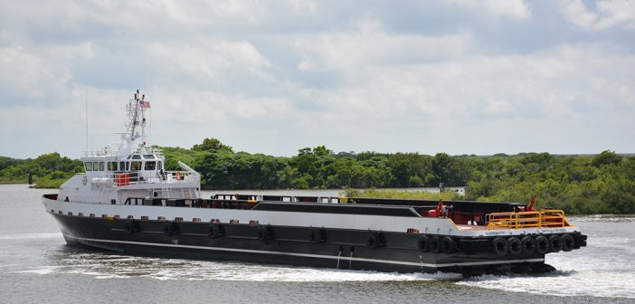 Incat Crowther delivers 205' fast crew-supply vessel | WorkBoat