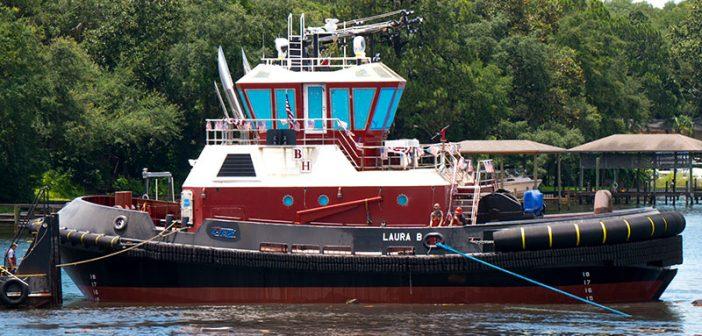 The escort tug Laura B. Eastern Shipbuilding photo.