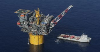 A well at Hess' Tubular Bells Field in the Gulf of Mexico. Hess Corp. photo.
