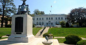 Wiley Hall at the U.S. Merchant Marine Academy. USMMA photo.