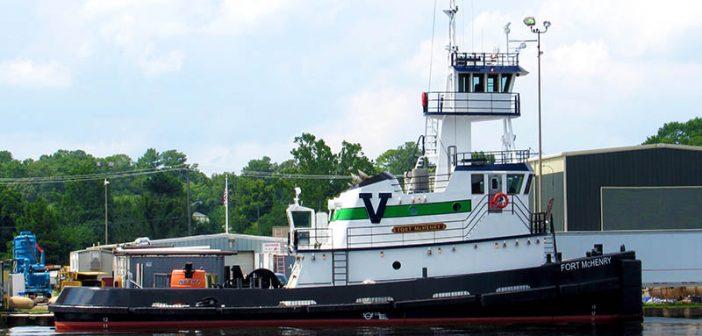 Vane Brothers' Fort McHenry. Chesapeake Shipbuilding photo.