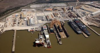 BAE Systems Ship Repair facility at Mobile, Ala. BAE photo