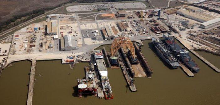BAE Systems Ship Repair facility at Mobile, Ala. BAE photo
