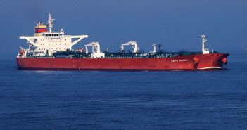 U.S. crude will be transferred from the King Darius to the Cape Bonny (pictured) en route to Africa. Creative Commons photo by Alfvan Beem.