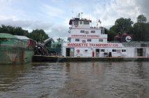 Marquette Transportation's towboat Christopher Myskowski. Pamela Glass photo.