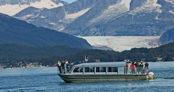 The Dolphin Jet Tours whale watching boat Raven's Journey in Alaska. Dolphin Jet Tours photo.