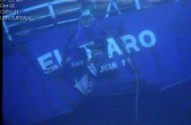 The wreck of the El Faro. NTSB photo.