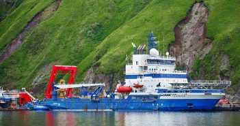 The icebreaking PSV Fennica. Shell photo.