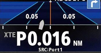 Autopilot display. Furuno USA.