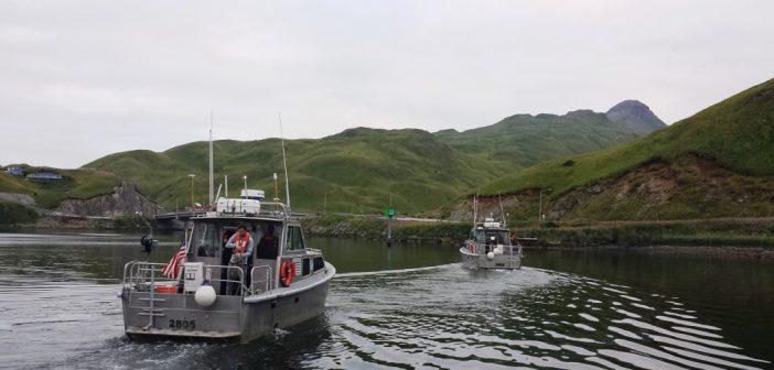 NOAA surveyors in Dutch Harbor for chart updates | WorkBoat