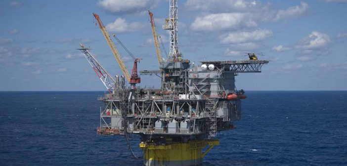 Shell's deepwater Perdido platform in the U.S. Gulf of Mexico. Shell photo.
