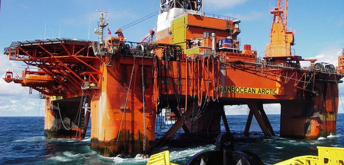 The Transocean Arctic. Creative Commons photo by Marcusroos.
