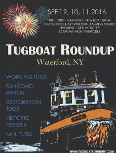 2016 Tugboat Roundup Poster