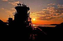 The grand prize winning photo from the inaugural WorkBoat photo contest in 2015, taken and submitted by Jimmie R.