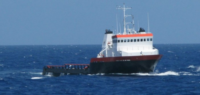 Will increased Jones Act enforcement benefit the offshore industry? Hornbeck Offshore photo.