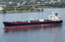 Crowley Maritime's Jones Act tanker Ohio. Crowley Maritime photo.