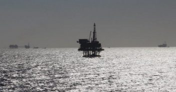 Pemex platforms in the Gulf of Mexico. Pemex Facebook photo.