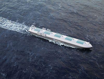 A Rolls-Royce rendering of an autonomous ship. Rolls-Royce photo.