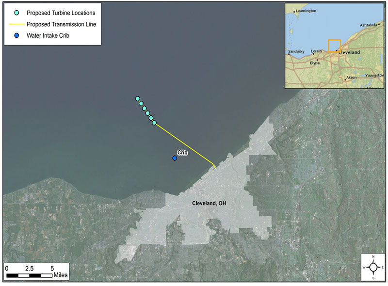 US wind farm planned for Lake Erie WorkBoat