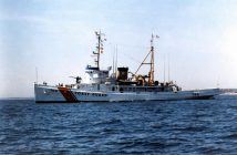 The Coast Guard cutter Tamaroa in 1990. USCG photo.